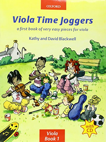 Viola Time Joggers (book + CD) (String Time Joggers)
