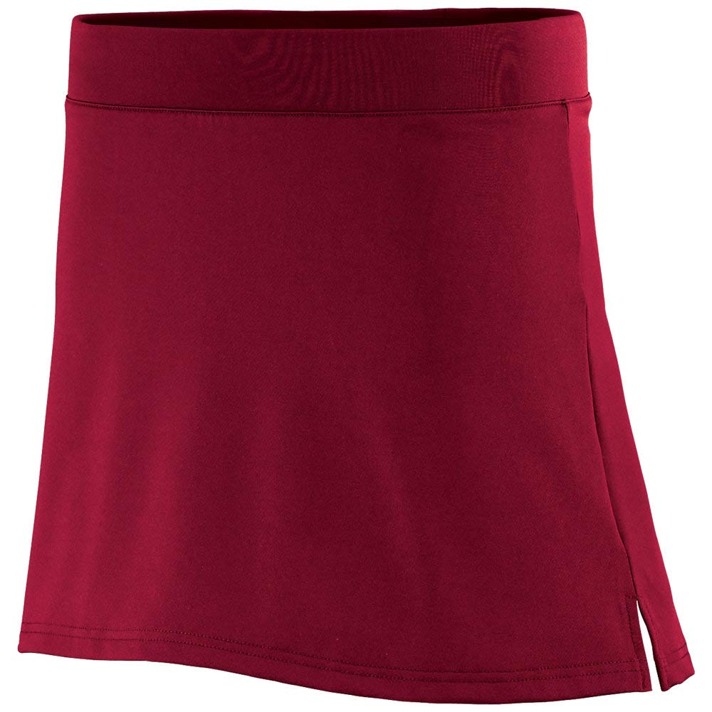 Girls Medium Red Kilt by Augusta Sports