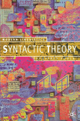 Syntactic Theory (Modern Linguistics)