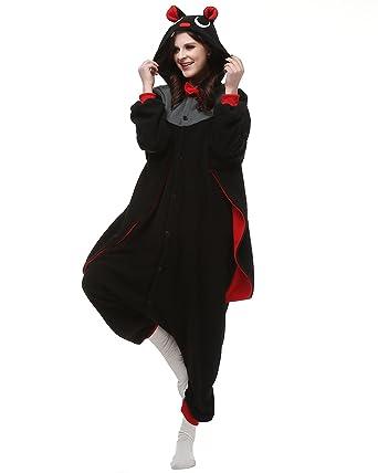 Halloween Kigurumi | Amazon Com Adult Bat Onesie Halloween Kigurumi Costume Pajamas