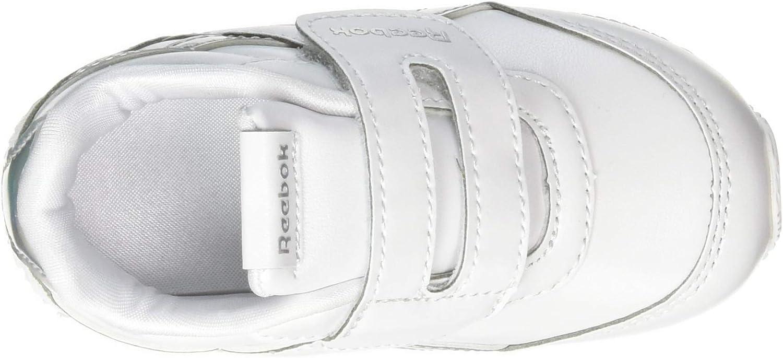Blanco-Plata Zapatillas de Deportes para Ni/ños 21.5 EU Reebok Royal CLJOG 2 KC