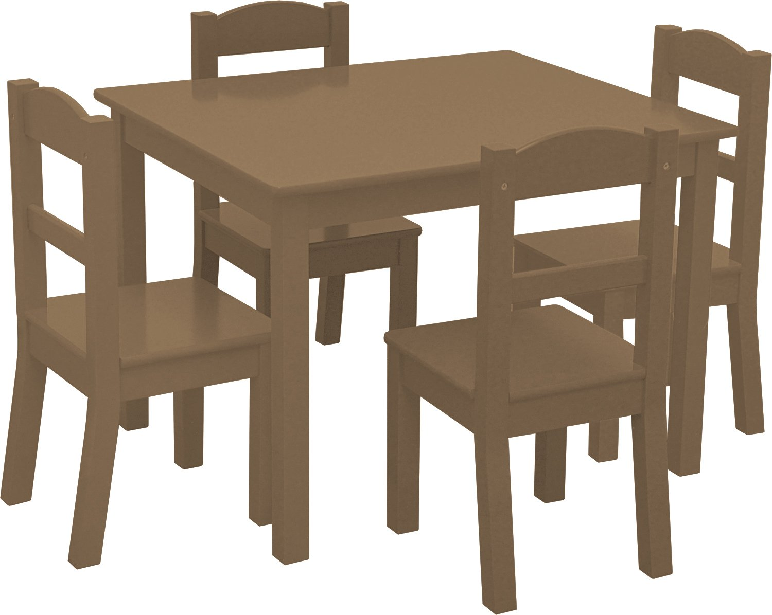 Heritage Kids Set, Brown, Table Dimensions: 26