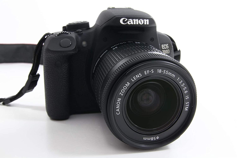 Cámara réflex Canon EOS 700D Kit con objetivo 18 - 55 mm DC III ...