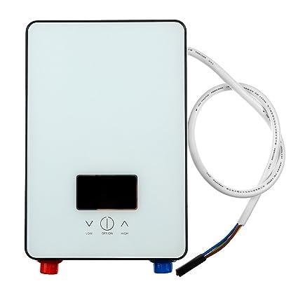DyNamic calentador de agua eléctrico Instant autoverificador inteligente de 6500W Tankless del calentador de agua