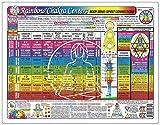 CHAKRA Centers CHART, Rainbow: Body-Mind-Spirit