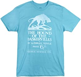 Out of Print Unisex/Men's Mystery and Spy Book-Themed Tee T-Shirt