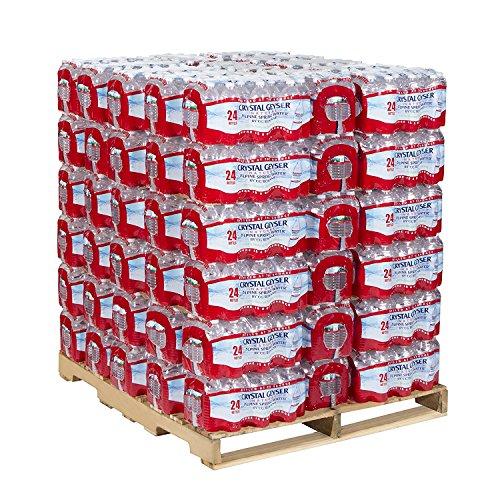 84 Crystal - Crystal Geyser, 24514, Alpine Spring Water, 16.9 oz Bottle, 24/Case, 84 Cases/Pallet