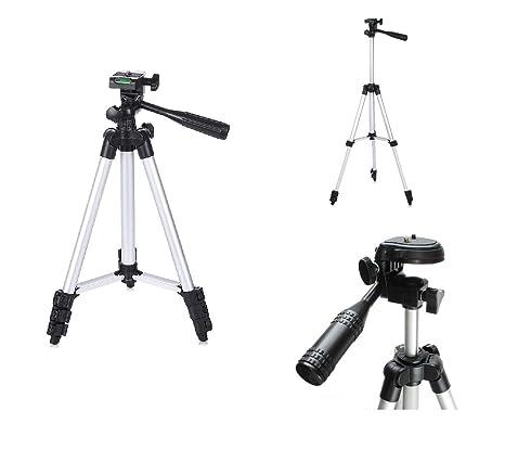 Pluvios Ligero trípode de cámara digital + Trípode bolsa de transporte para Canon Powershot + Elph A, SX, S Serie inc G3 G16 SX240 HS, SX280 HS, SX510 ...