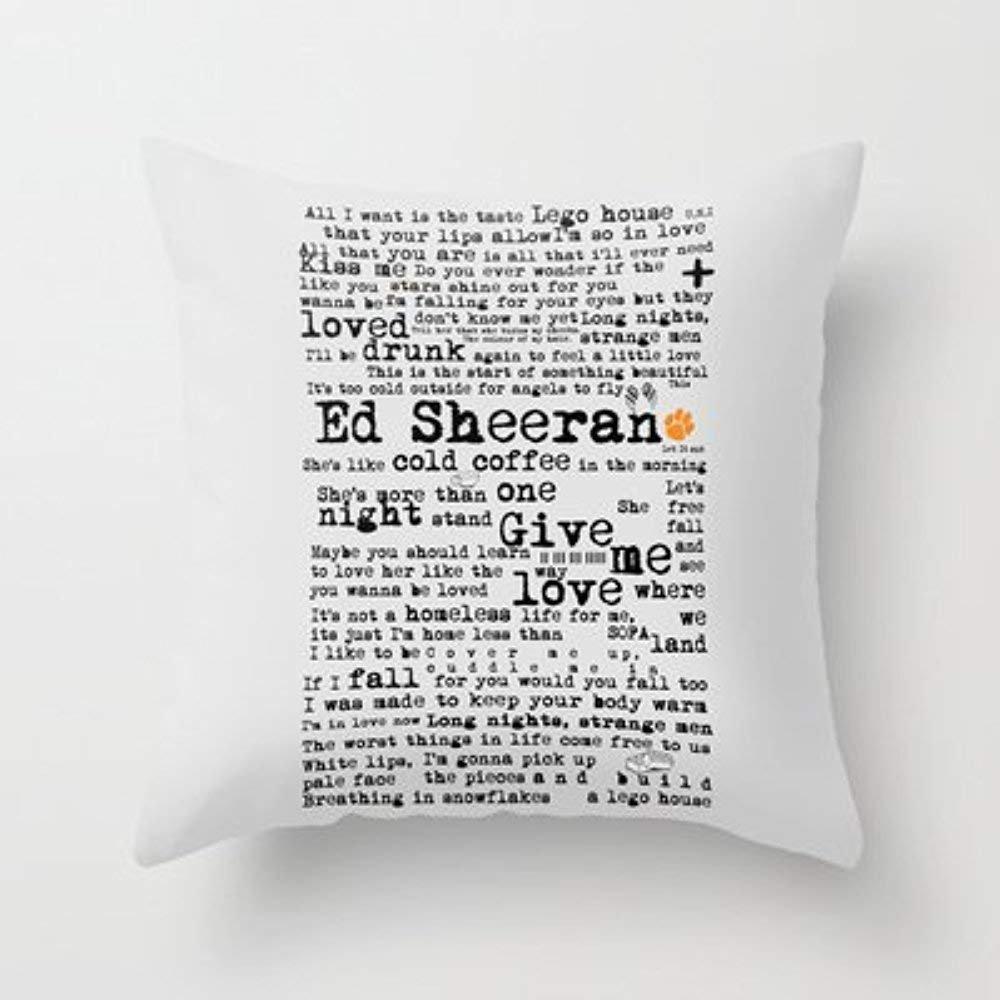 fengxutongxue My Honey Pillow Ed Sheeran + Throw Pillow by ...