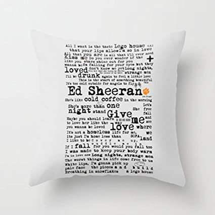 fengxutongxue My Honey Pillow Ed Sheeran + Throw Pillow by ...