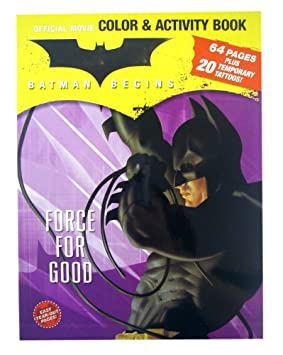 Batman Coloring And Activity Book