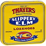 2Pack! Thayers Slippery Elm Lozenges Original - 42 Lozenges - Case of 10