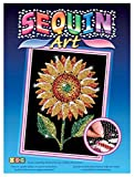 Sequin Art Blue, Sunflower, Sparkling Arts and Crafts Picture Kit, Creative Crafts