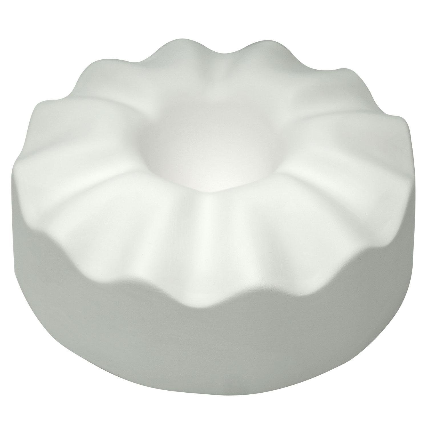 Ruffled Controlled Drop Mold