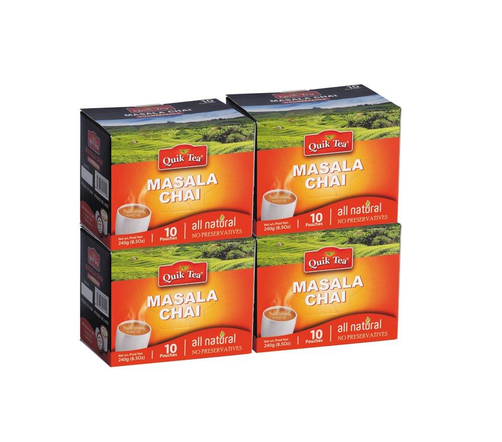 QuikTea Tea Latte, Masala Chai, 960 Gram
