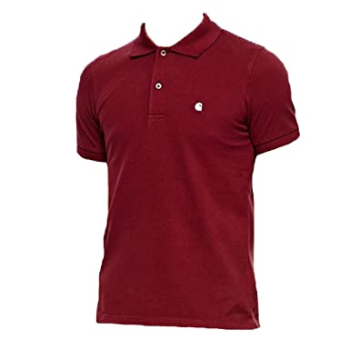 Carhartt Slim Fit Polo Rd Red L: Amazon.es: Ropa y accesorios