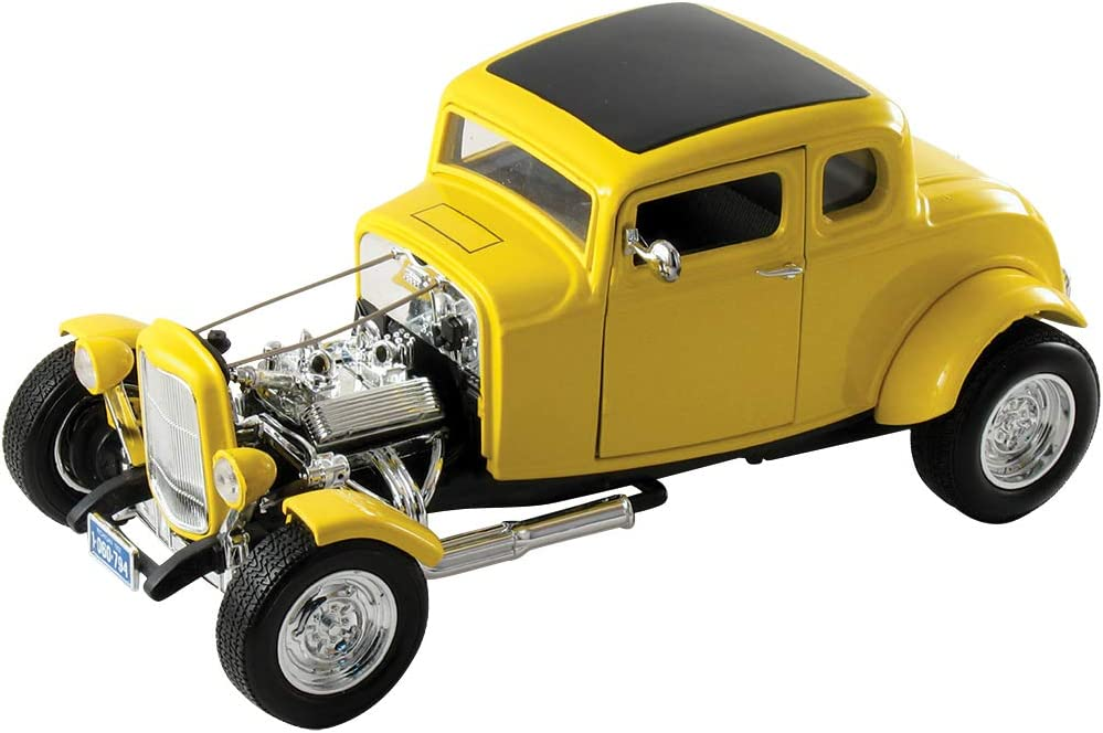 2043052 Maisto Maquette De Voiture Ford F-1 Pickup 48 Noir//Orange Flh Duo Glide 58 Echelle 1//24