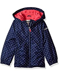Osh Kosh Girls' Fleece-Lined Lightweight Jacket