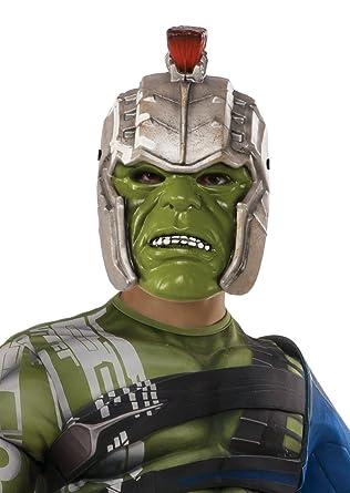 Amazon.com: Rubies Ragnarok Guerra Casco de Hulk (Niño ...