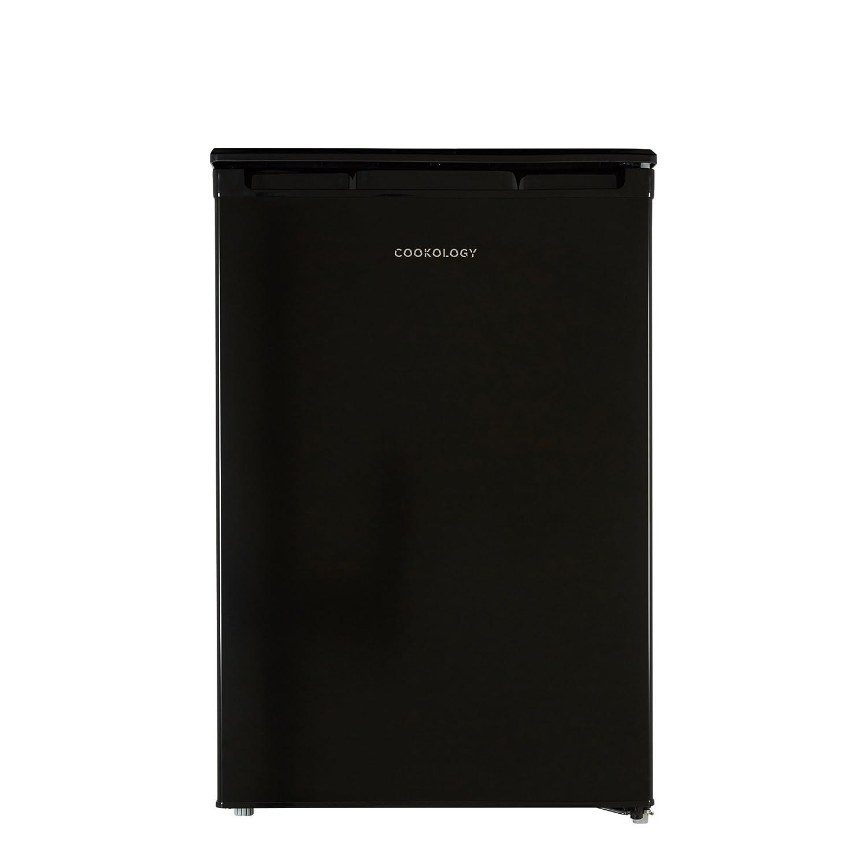 Cookology UCFR130BK 55cm Freestanding Undercounter Larder Fridge in Black [Energy Class A+]