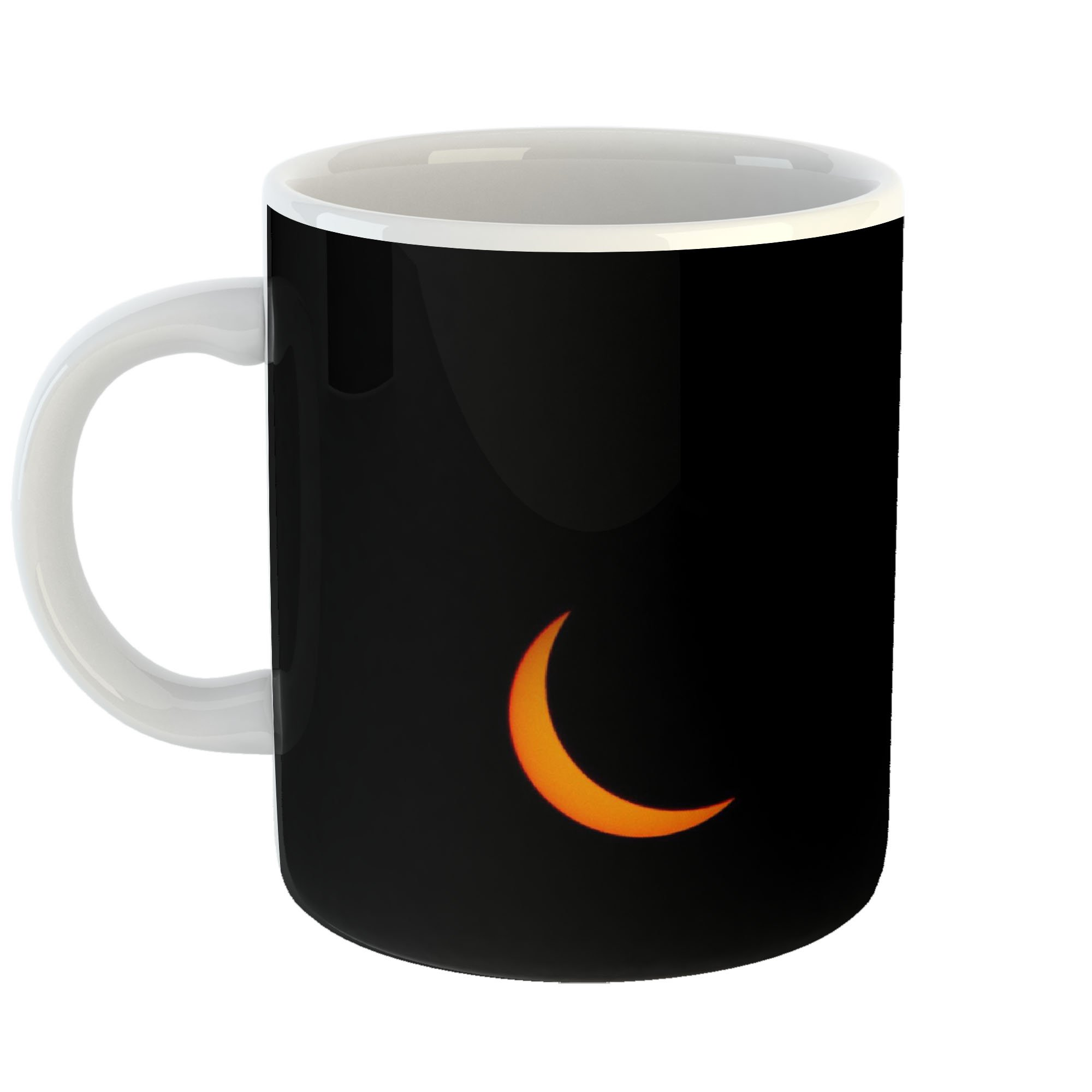 Westlake Art - Solar Eclipse - 11oz Coffee Cup Mug - Modern Picture Photography Artwork Home Office Birthday Gift - 11 Ounce (1BB1-6F4CF)