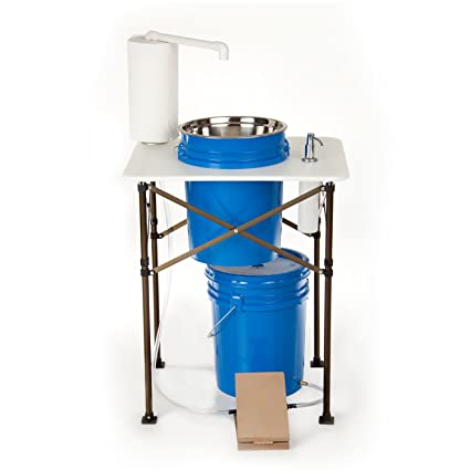 Camp Sink With Faucet.Deluxe Camp Sink