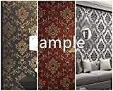 Blooming Wall: 100502 100508 25107 Damasks Wallpaper Sample