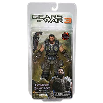 Neca - Gears of War 3: Dominic Santiago 18cm - 0634482521595