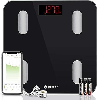 Etekcity Smart Bluetooth Digital Bathroom Weight Body Fat Scale