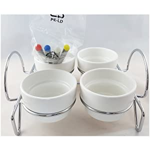 Lillian Vernon 4 Section Condiment Server