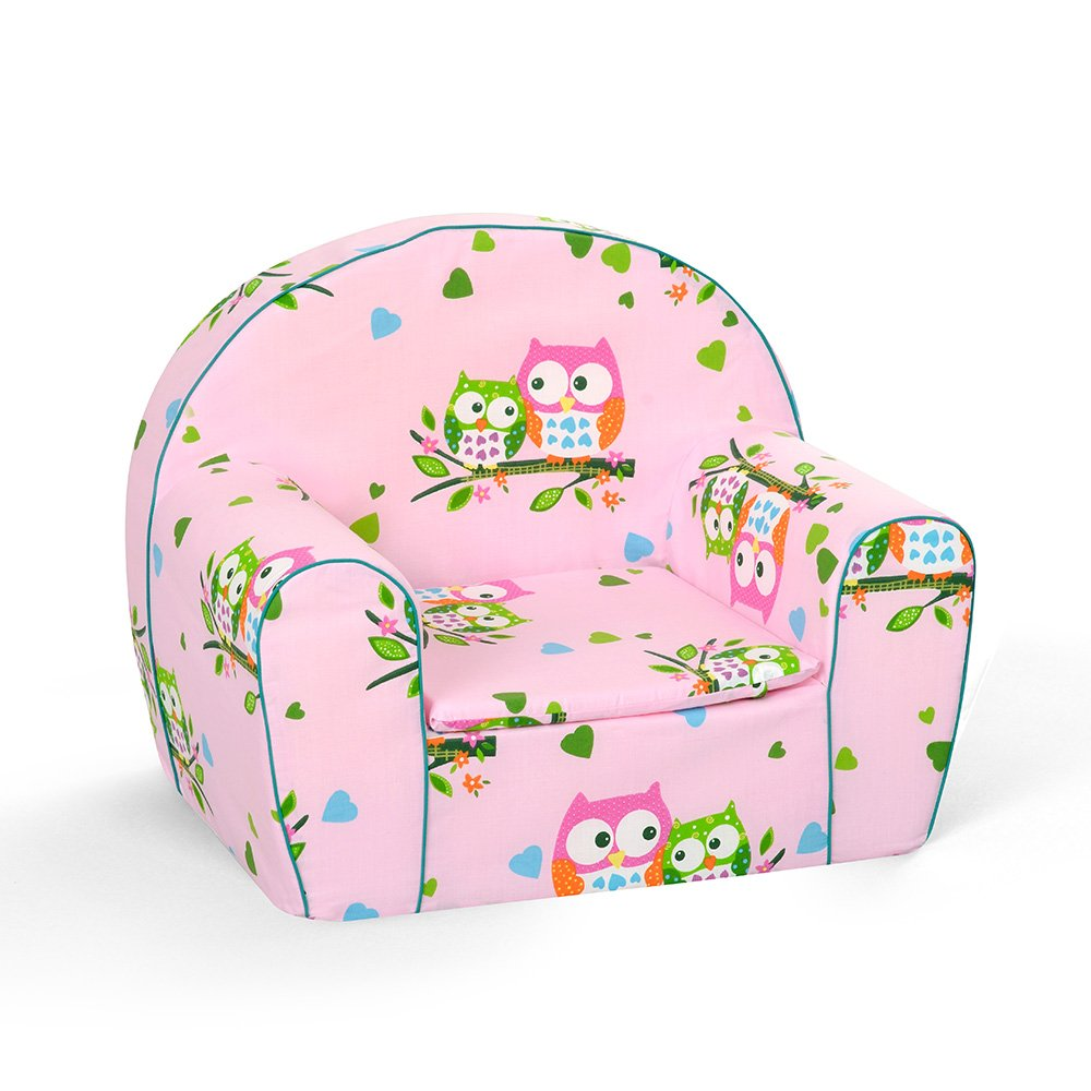 MuseHouse Childrens Chair Armchair Sofa Seat Stool Kids Toddlers Childs Sofa seat