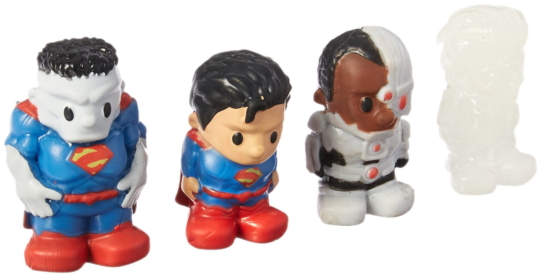 4 Pack Jakks 41149 Ooshies Set 3 DC Comics Series 1 Action Figure
