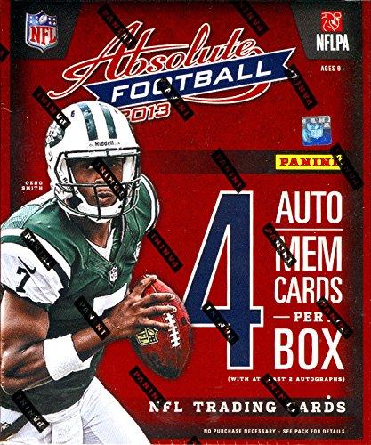 NFL 2013 Panini Absolute Football Hobby Box
