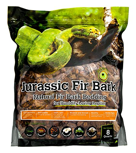 Galapagos (05024) Jurassic Fir Bark Douglas Bedding, 8-Quart, Natural by Galapagos