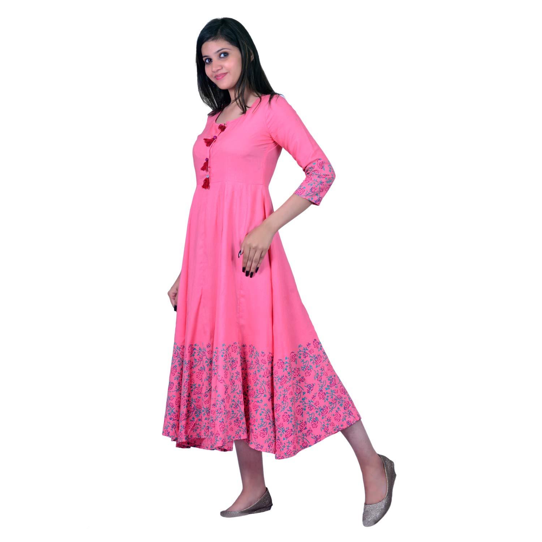 Rayon Angrakha Kurta For Women's