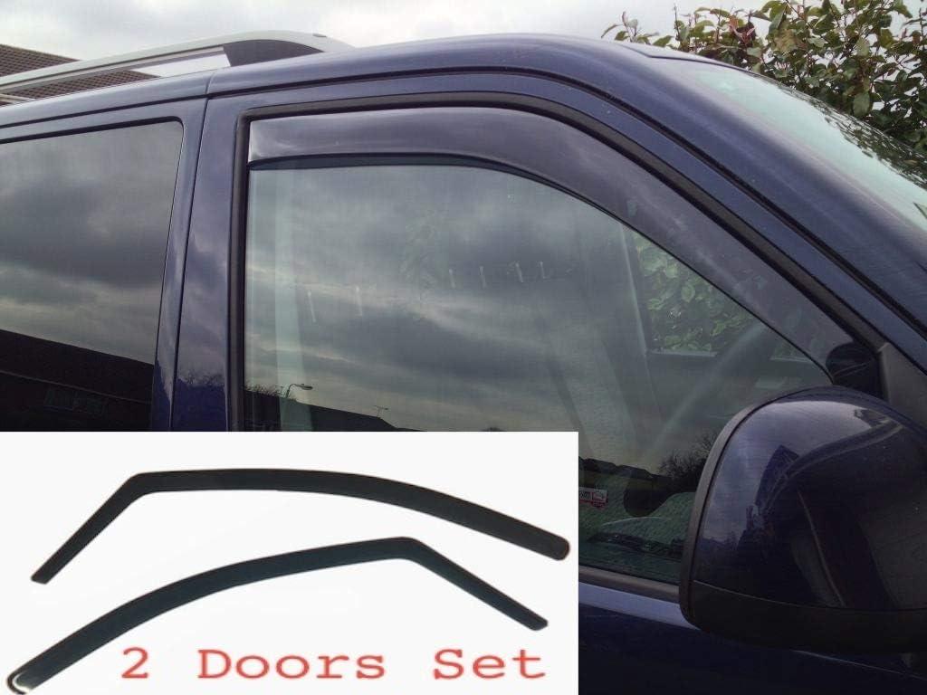 Lot de 2 d/éflecteurs dair Transporter T5 2003-2015 Caravelle Multivan California pour Am/énagement Int/érieur