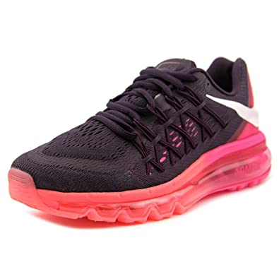 huge selection of d2e63 93289 Amazon.com   NIKE Women s WMNS Air Max 2015, NBL Purple White-Pink FL-HOT  Lava   Road Running