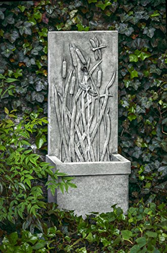 Campania International FT-196-AS Dragonfly Wall Fountain,...