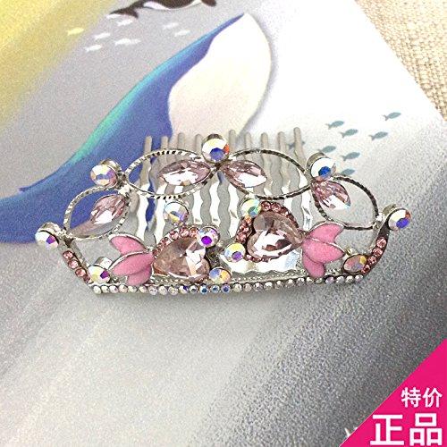 Generic Popular hair ornaments crown tiara tiara counter genuine 2018 new children's cartoon goldfish free disk hair headdress