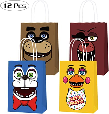 Five Nights at Freddy/'s Lunch Dinner Napkins 16 Count Birthday Party Supplies