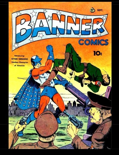 Download Banner Comics #3: 1941 Superhero Comic PDF