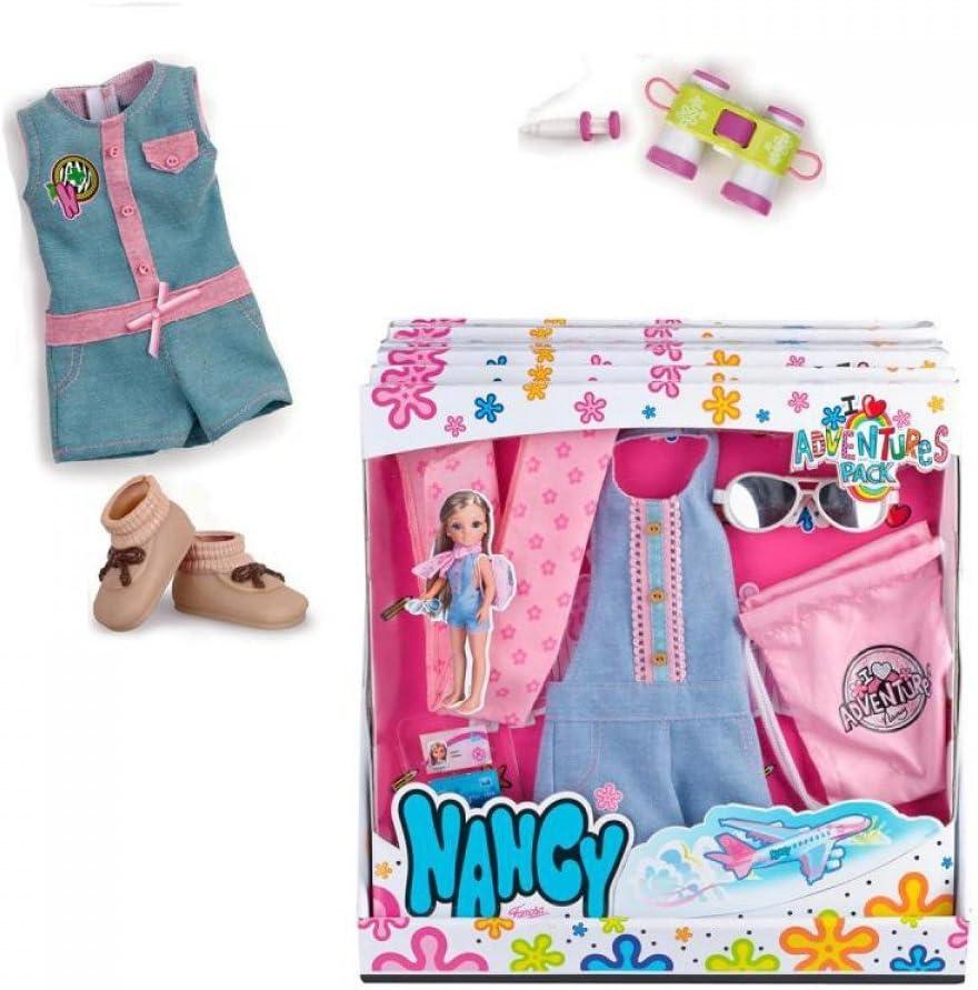 Amazon.es: Nancy Pack de ropita Aventuras Animales, única (Famosa 700012723): Juguetes y juegos