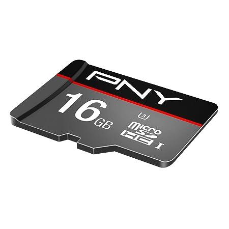 PNY Turbo Memoria Flash 16 GB MicroSDHC Clase 10 UHS-I - Tarjeta de Memoria (16 GB, MicroSDHC, Clase 10, UHS-I, 90 MB/s, Negro, Gris): Amazon.es: ...