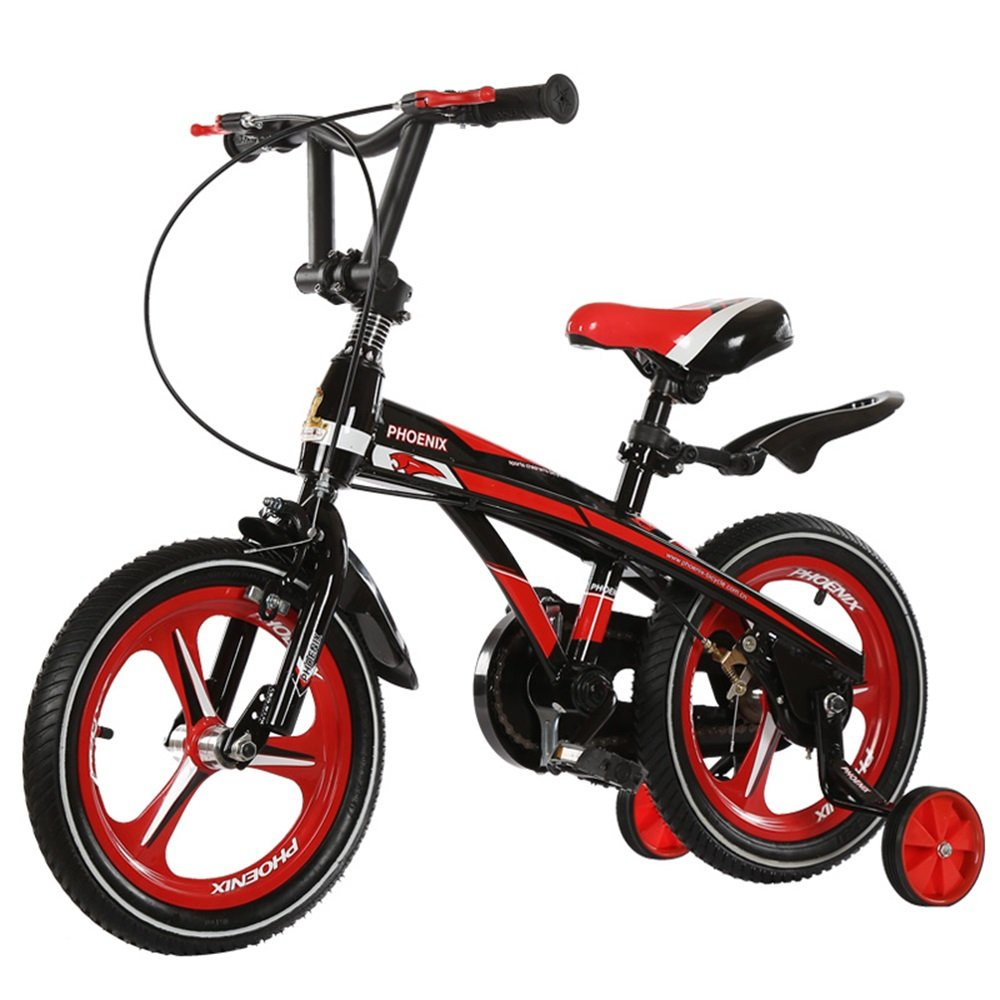 子供用自転車、乳児用乳母車、自転車、マウンテンバイク、子供用自転車 ( 色 : 黒と赤 , サイズ さいず : 85*38*64cm ) B078KTLDFZ 85*38*64cm|黒と赤 黒と赤 85*38*64cm