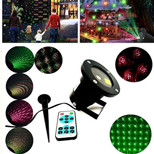 Star Laser Landscape Christmas LED Projector Light Laser