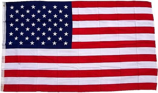 Bandera de Estados Unidos, 150 x 90 cm, tejido 100% poliéster ...