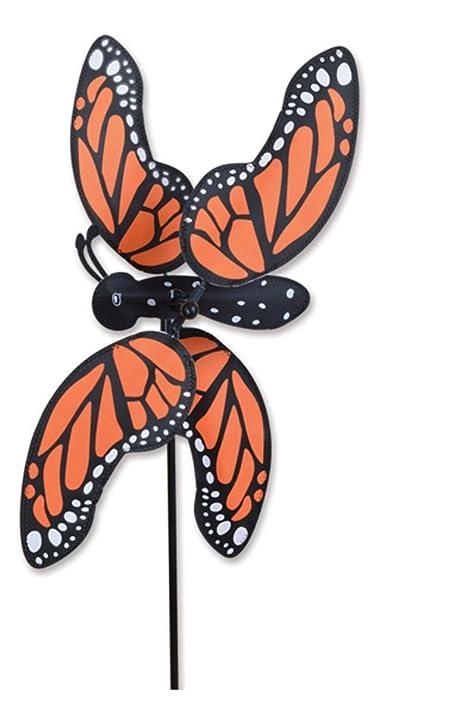 MONARCH BUTTERFLY Garden Stake Wind Spinner By Premier Designs 20u0026quot;