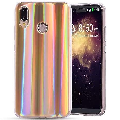 Carcasa Huawei P20 Lite silicona, única aurores boréales ...