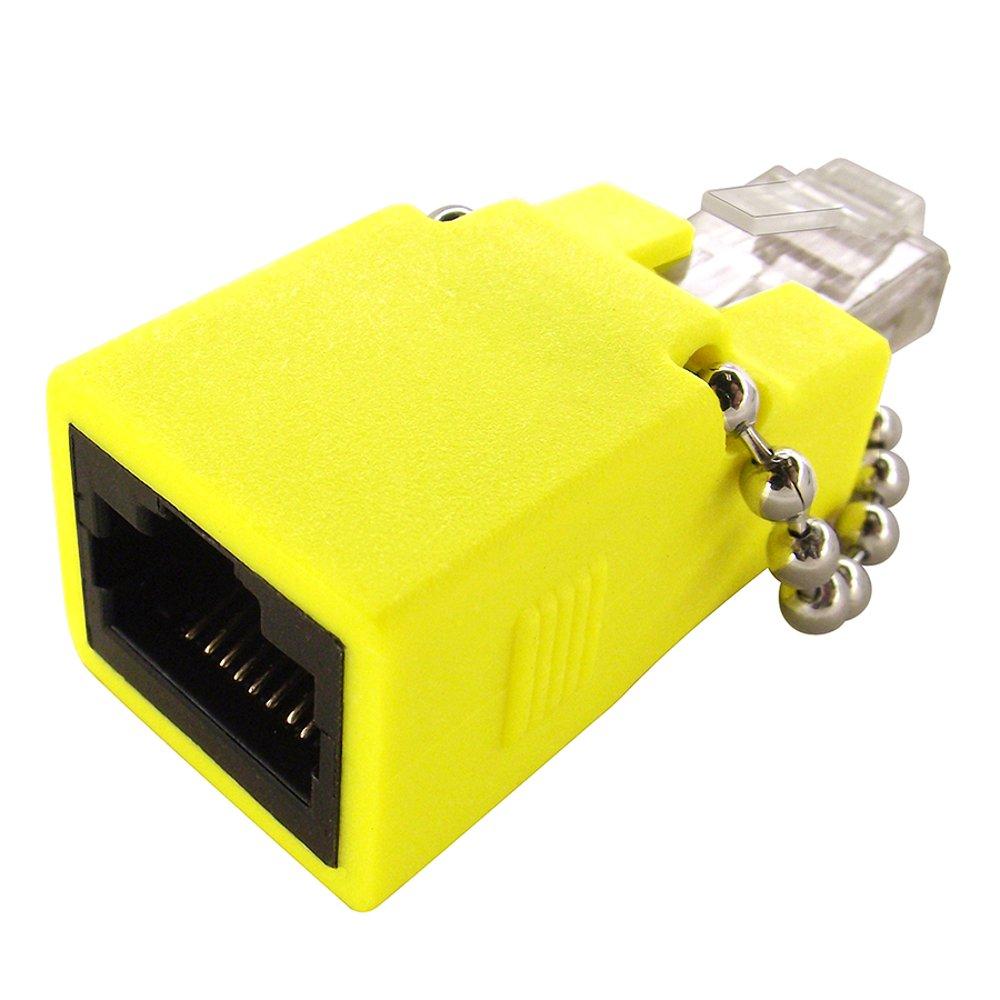 Shaxon Cat6 Gigabit Loopback Adapter Rj48c Jack Rj45 Connector Wiring Male Purple Matglfm P B Computers Accessories