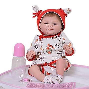 Amazon.es: Muñecas de bebé reborn 2018 de 43 cm con aspecto real ...